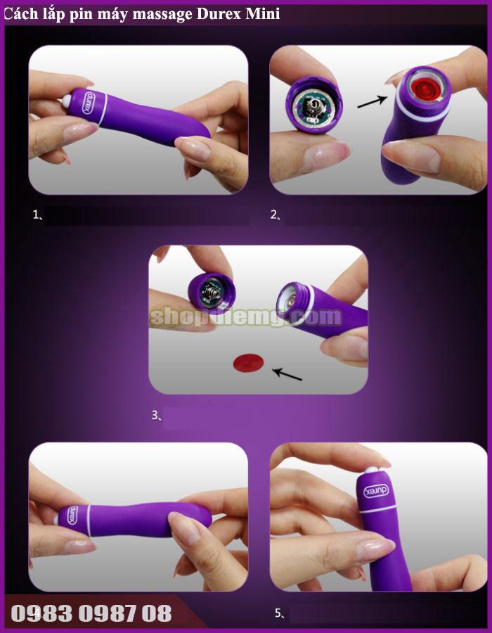 Bút massage điểm G mini cho phái nữ thủ dâm sung sướng hãng Durex