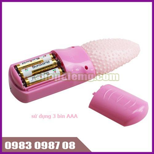 Máy massage lưỡi liếm silicon, bú mút âm đạo cho nữ 2