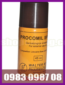 Chai xịt trị xuất tinh sớm Procomil Spray 1